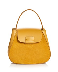 Nico Giani - Myria Small Leather & Suede Crossbody