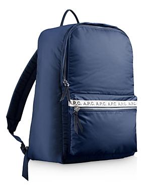 A.P.C. Sac A Dos Sally Backpack In Iaj Marine   ModeSens 93e11cd40d5b