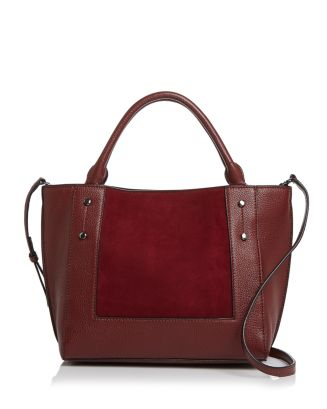 Park Slope Small Leather & Suede Tote   100 Percents Exclusive by Botkier