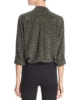 Rails - Kate Cheetah Print Silk Shirt