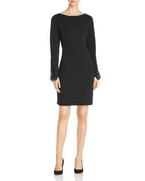 Elie Tahari Azura Lace Cuff Dress