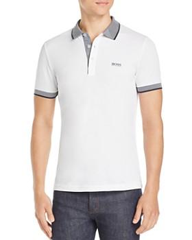 BOSS - Paule Contrast-Stripe Polo Shirt