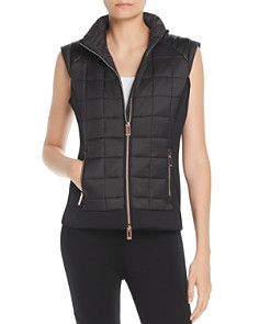 Marc New York - Mixed Media Puffer Vest