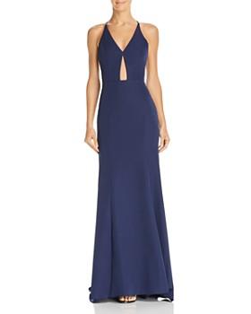 Jarlo - Margaux Keyhole Gown