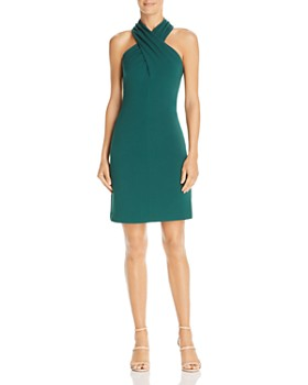 Eliza J - Cross-Neck Halter Dress