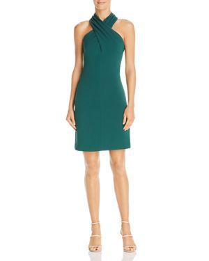 Eliza J Cross-Neck Halter Dress 3088581