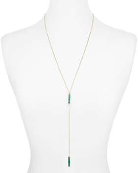 "Kendra Scott - Lilly Lariat Pendant Necklace, 28"""