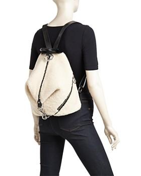 Rebecca Minkoff - Julian Medium Shearling Backpack