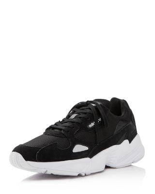Falcon Suede Casual Shoes, Black