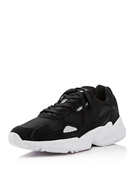 Adidas - Women's Falcon Suede & Leather Lace Up Sneakers
