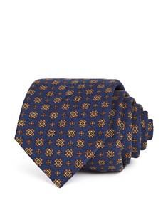 Drake's - Square Florette Classic Tie