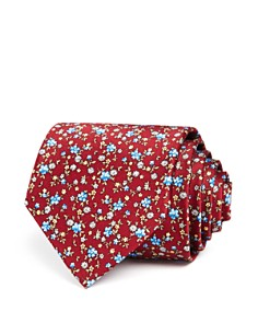 The Men's Store at Bloomingdale's Ditsy Floral Print Classic Tie_0