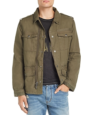 John Varvatos Star Usa Garment-Dyed Field Jacket