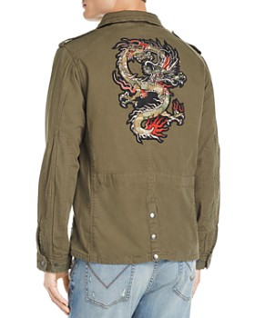 John Varvatos Star USA - Garment-Dyed Field Jacket