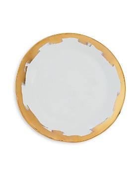 VIETRI - Gold Brushstroke Dinner Plate - 100% Exclusive