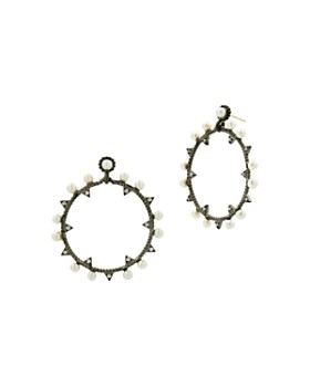 Freida Rothman - Textured Hoop Earrings