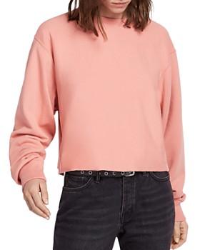 ALLSAINTS - Navarre Cropped Sweatshirt