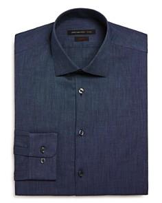 John Varvatos Star USA - Textured Solid Slim Fit Dress Shirt