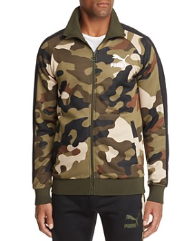 PUMA - Wild T7 Camouflage-Print Track Jacket