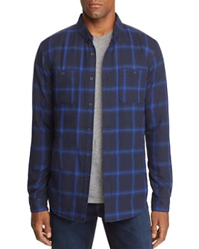 BANKS - Momentum Plaid Regular Fit Button-Down Shirt