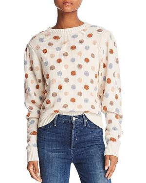 La Vie Rebecca Taylor Jacquard Dot Sweater