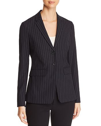 BOSS - Junka Pinstriped Blazer