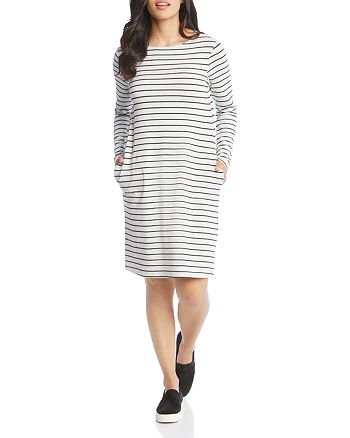 Karen Kane - Striped French Terry Dress
