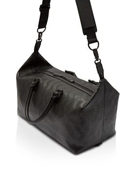 Ted Baker - Payz Embossed Leather Holdall