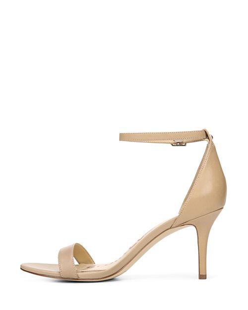 dd54164abba Sam Edelman Women s Patti Open Toe Leather High-Heel Sandals ...