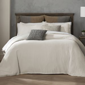Habit Collection by Highline Bedding Co. Reese Off White Duvet Set, King - 100% Exclusive