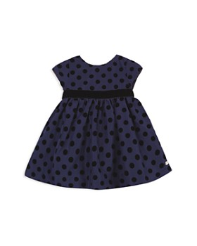 Tartine et Chocolat - Girls' Structured Polka Dot Dress - Baby