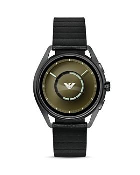 Emporio Armani Tech - Gunmetal-Tone Touchscreen Smartwatch, 43mm