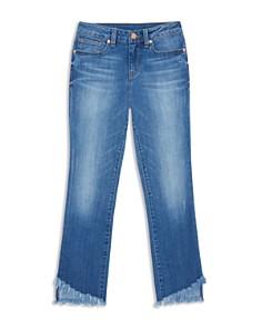 Habitual Kids - Girls' Skye Flared Raw-Hem Jeans - Big Kid
