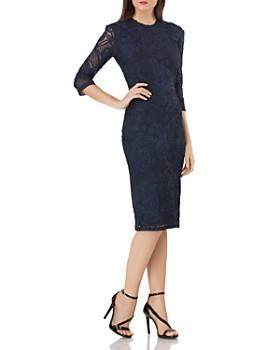 JS Collections - Soutache Trimmed Dress