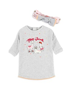 Little Marc Jacobs - Girls' Llama Top & Headband Set - Baby