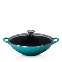 Le Creuset - 5-Quart Cast Iron Wok