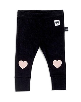 Huxbaby - Girls' Heart Patch Jersey Leggings - Baby