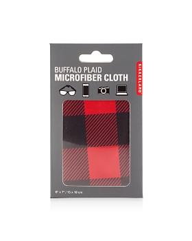 Kikkerland - Buffalo Plaid Microfiber Cloth