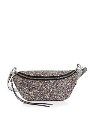 Rebecca Minkoff Convertible Glittered Leather Sling Bag 3113690