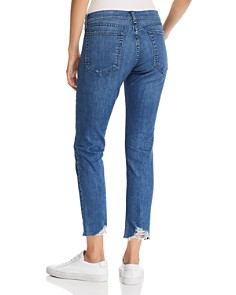 rag & bone/JEAN - Dre Raw-Edge Slim Boyfriend Jeans in Lovie
