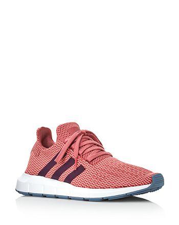 Adidas - Women's Swift Run Knit Lace Up Sneakers