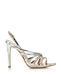 SCHUTZ - Women's Taila Metallic Leather Strappy High-Heel Sandals