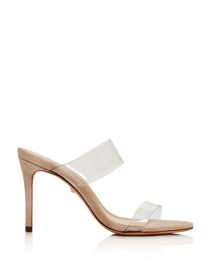 0bb0cf1997 SCHUTZ Women's Ariella Clear Strap High-Heel Slide Sandals ...