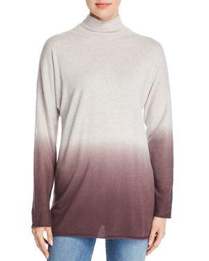 Nic+Zoe Traveler Ombre Tunic Sweater, Plum