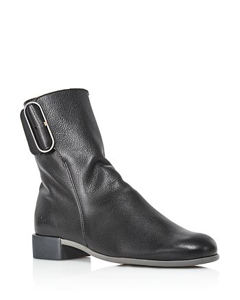 Arche - Women's Twibel Leather Buckled Booties