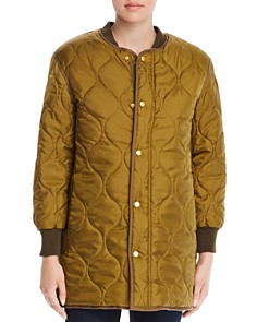 Tory Burch - Whitney Quilted Bomber Jacket