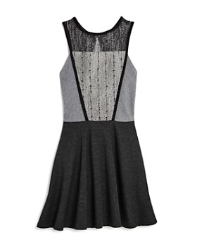 Sally Miller - Girls' Catee Crochet-Bodice Dress - Big Kid