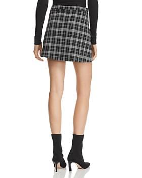 Tiger Mist - Twiggy Plaid Mini Skirt