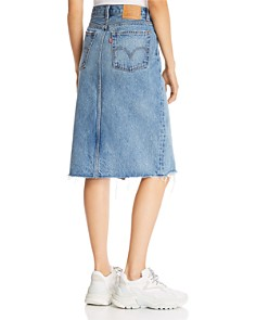 Levi's - Deconstructed Denim Skirt in Original Sinner