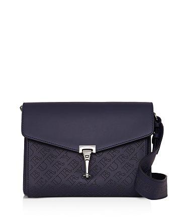 6445abc5dc0e Burberry - Small Perforated Logo Leather Crossbody Bag